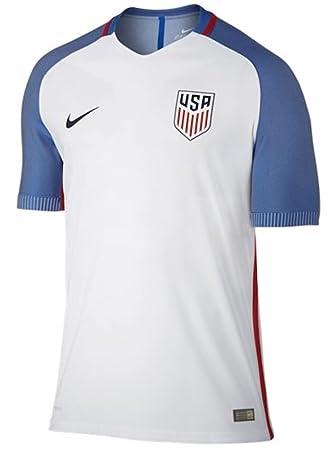 Nike Selección de Fútbol de los Estados Unidos 2015 2016 - Camiseta  Oficial 4efa72dec1dee