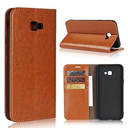 samsung galaxy j4 plus leather case