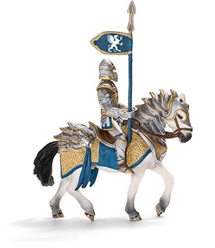 Schleich Griffin Knight Action Figure on Horse with Lance (Schleich Knights)