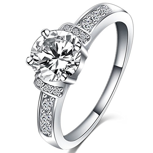 FENDINA Jewelry Classic Engagement Solitaire