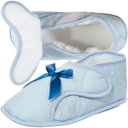Womens Edema Slipper for Swollen or Bandaged Feet - Womans Shoes For Swollen Feet