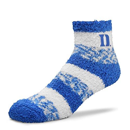 - For Bare Feet NCAA RMC Pro Stripe Fuzzy Sleep Soft Sock -Duke Blue Devils-Size-Medium