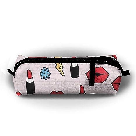 Amazon.com: Ligero bonito estuche escolar multifunción bolsa ...