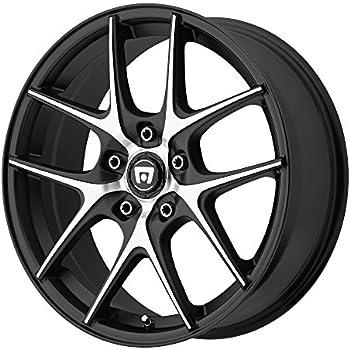 Amazon Com Motegi Racing Mr118 Matte Black Finish Wheel 17x8