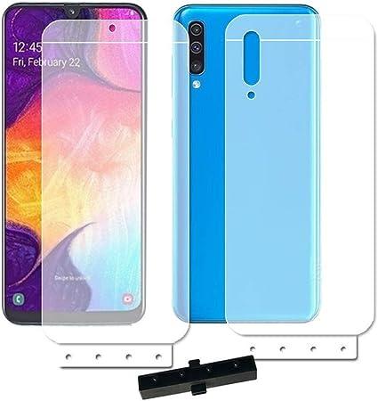 XLLXPZ 6D Soft Hydrogel Front Back Film, para Samsung Galaxy A50 ...