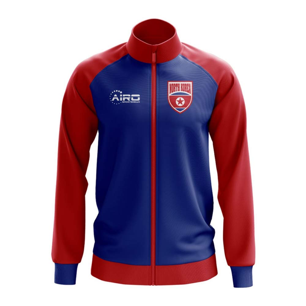 Airo Sportswear North Korea Concept Football Track Jacket (Blau)