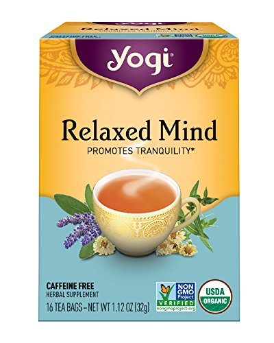 Yogi Tea, Relaxed Mind, 16 Count (Pack of 6), Packaging May Vary