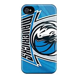 Awesome Case Cover/iphone 4/4s Defender Case Cover(dallas Mavericks)
