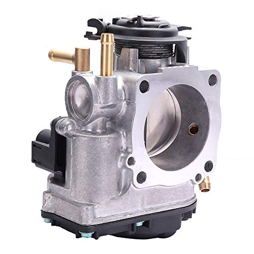 OCPTY New Electric Throttle Body Replace 06A133064H, 408237111017Z Fuel Injection Throttle Body Assembly fit for 1999-2001 Volkswagen Beetle /1999-2001 Volkswagen Golf /1999-2001 Volkswagen Jetta