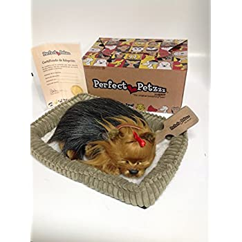 Good Perfect Petzzz Yorkie Breathing Puppy Dog Plush Set Wcarrier