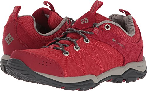 Columbia Womens Fire Venture Textile Hiking Boot  Mountain Red  Kettle  7 Regular Us