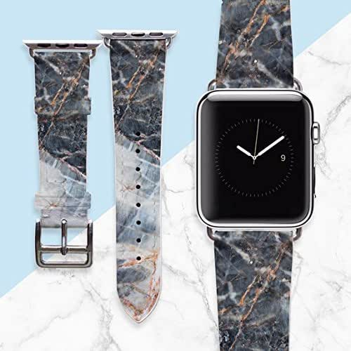 Amazon.com: WolfCase Quartz and Granite Marble Apple Watch