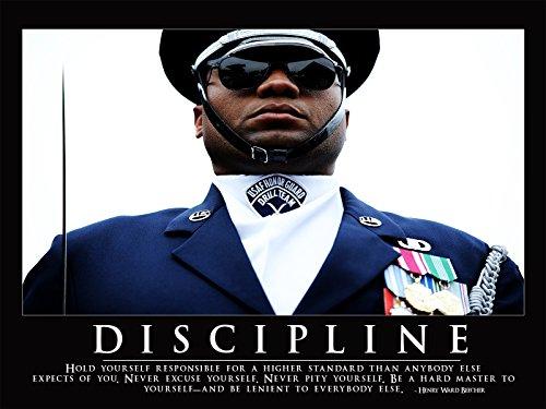 Air Force Poster Discipline Motivational Posters Usaf