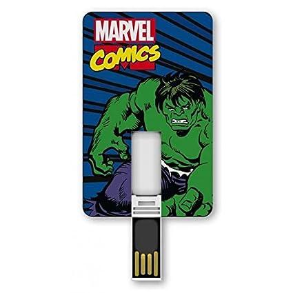 Amazon.com: Tribe 8GB ICONIC Marvel Hulk: Computers ...
