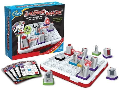 ScienceLAB Laser Maze - The Beam-Bending Logic Game by ThinkFun -
