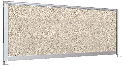 Balt Desktop Privacy Panel, 58-Inch Pebbles Vinyl (Balt Office Table)