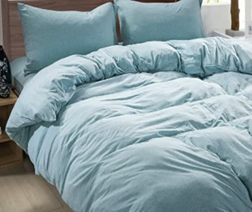 Amazon Com French Blue Duvet Cover French Blue Linen