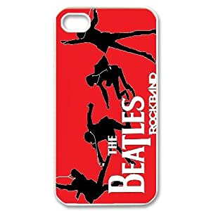 James-Bagg Phone case The Beatles Music Band Protective Case For Iphone 4 4S case cover Style-3