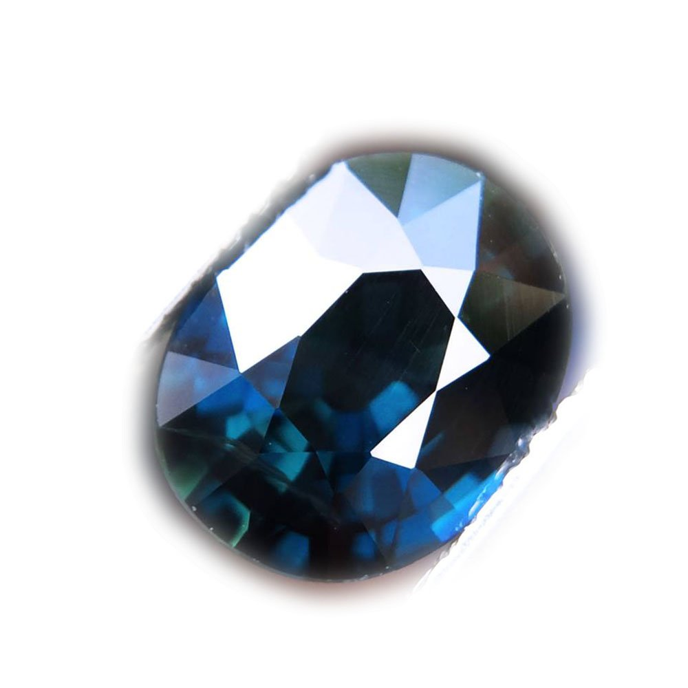 2.18ct Natural Oval Unheated Blue Sapphire Tanzania #B