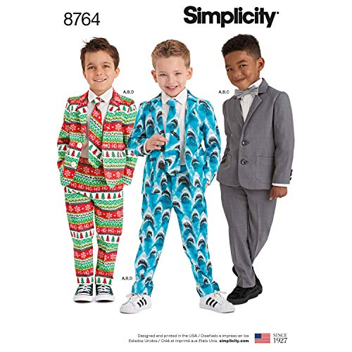 Simplicity Patterns US8764A Costumes, A (A (3-4-5-6-7-8)