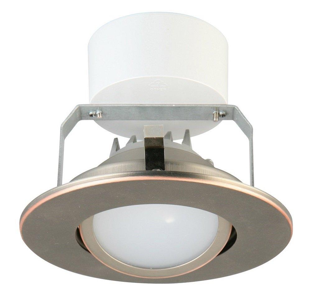 Lithonia Lighting 4G1MW LED 30K 90CRI M6 3000K LED Gimbal Module, 4-Inch, Matte White