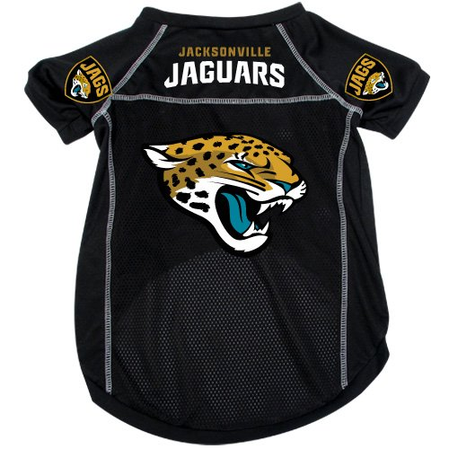Jacksonville Jaguars Pet Dog Football Jersey Alternate SMALL