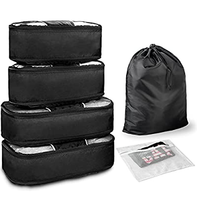 488777199a9 WandF Packing Organizers Cubes 6 Set Travel Luggage 30%OFF - shop ...