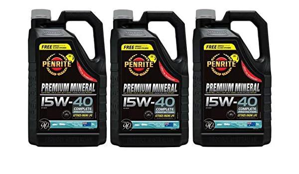 Penrite Premium Mineral 15W40 Aceite de Motor, Mazda RX8, RX7 ...