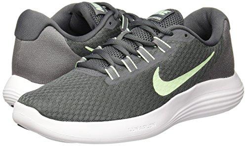 Nike Damen Laufschuhe, wmns Nike lunarconverge, grau ( grau/grün/weiß (DARK GREY/FRESH MINT-COOL GREY-WHITE)