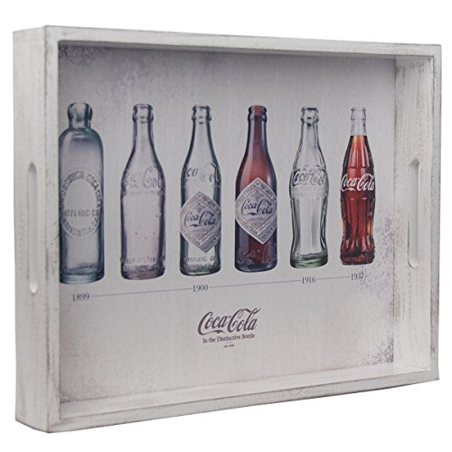 Coca-Cola Contour Bottle Evolution serving tray