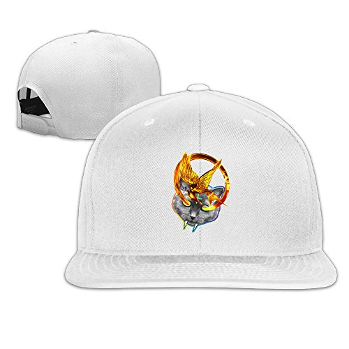 REBORN Odd Future Hunger Games Baseball Hat Cap White]()