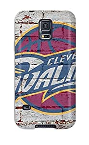 S5 Scratch-proof Protection Case Cover For Galaxy/ Hot Nba Cleveland Cavaliers Logo Phone Case