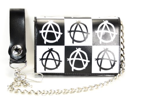 Anarchy Wallet (Anarchy Trifold Bikers Wallet with 16
