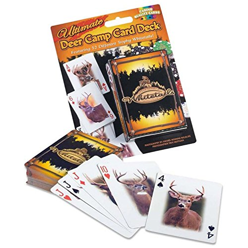 Legendary Whitetails Ultimate Deer Camp Card Deck - Camouflage Playing Cards