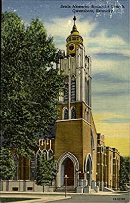 Settle Memorial Methodist Church Owensboro, Kentucky Original Vintage Postcard