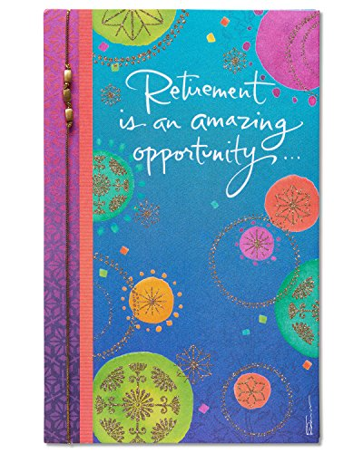 - American Greetings Amazing Opportunity Retirement Congratulations Card with Glitter