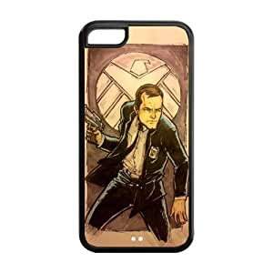 the Case Shop- Customizable Agents of Shield TV Show Avengers iPhone 5C TPU Rubber Hard Back Case Cover Skin , i5cxq-194