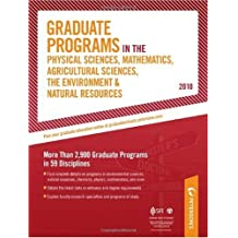 Graduate Programs in the Physical Sciences, Mathematics, Agricultural Sciences, The Environment & Natual Resources...