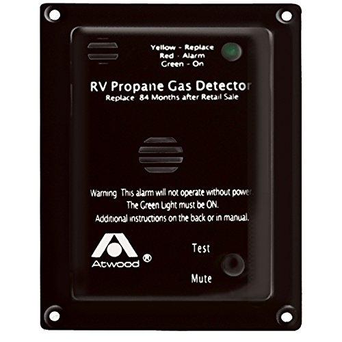 Atwood 31014 RV Propane Gas Detector-12V DC, Black ()
