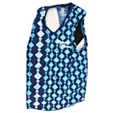 Liquid Force Women's Cardigan Comp Vest (Blue, X-Small)