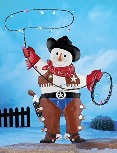 Outdoor Lighted Christmas Elves - 9