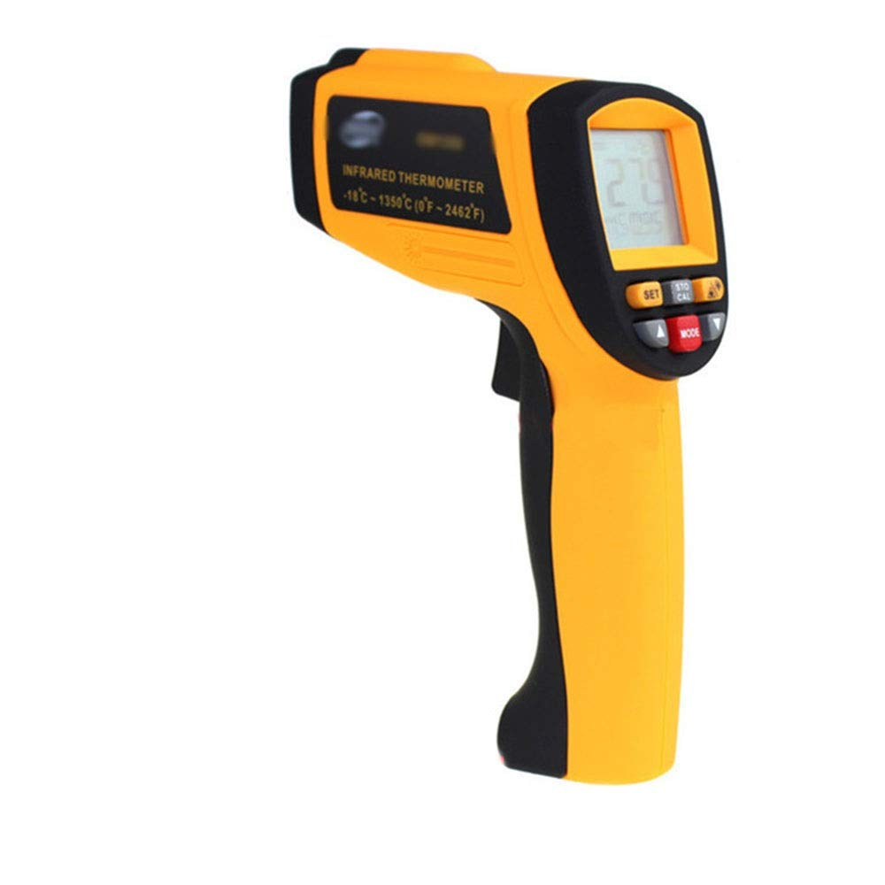 XUNHANG 14160200 Infrared Laser Temperature Gun Non-Contact Measuring Object Distance Ratio: 50:1thermometer -18~1350 °C (Color by XUNHANG