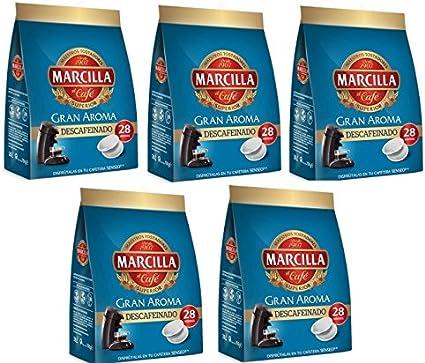 Capsulas Senseo Marcilla Descafeinado 140 Monodosis: Amazon.es ...
