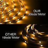 DAYBETTER Led Strip Lights 32.8ft 5050 RGB 300 LEDs
