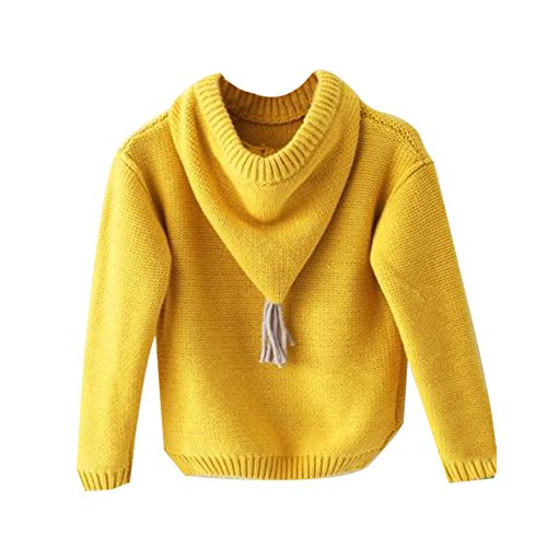 Yellow Kids Sweater - 3