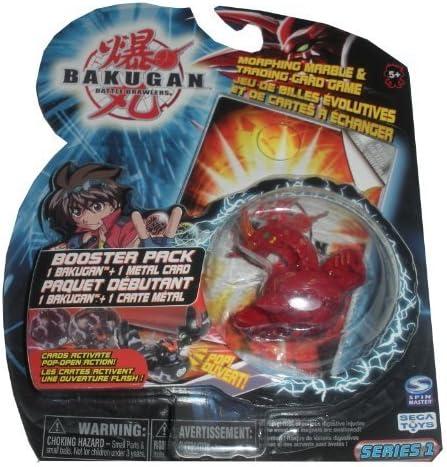 Bakugan Battle Brawlers Booster Pack - Red Pyrus Dragonoid Series ...