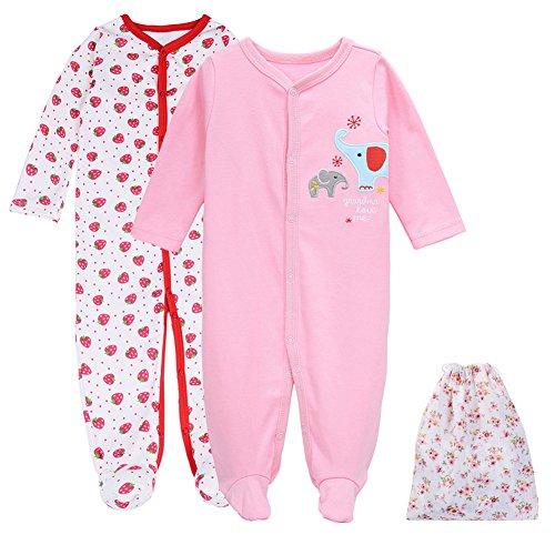 1b8e77b55688 Girls One-Piece Jumpsuit Bodysuit Pajamas