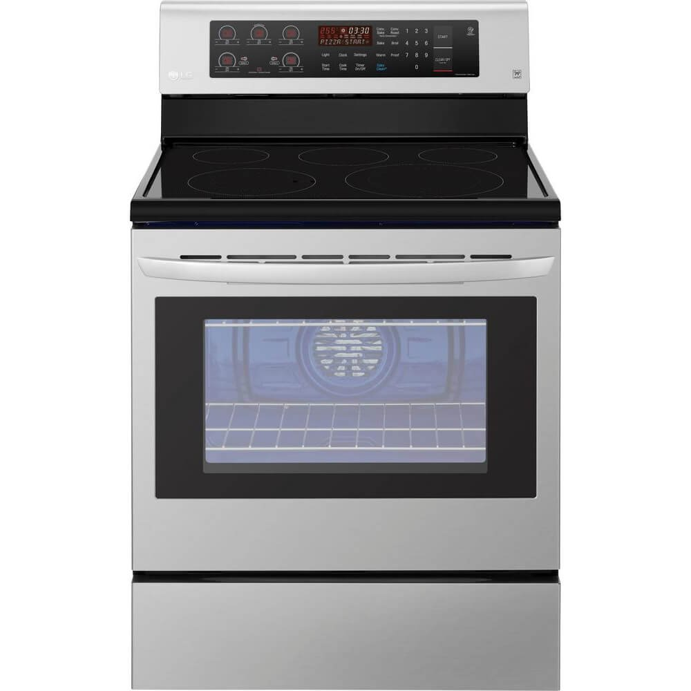 LG 6.3 Cu. Ft. Stainless Steel Electric Stove Black Friday Deal 2020