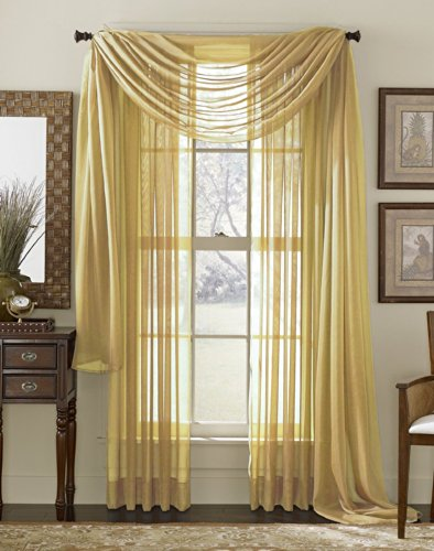 LuxuryDiscounts Elegant Curtains Stitched Treatment