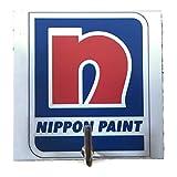 Agility Bathroom Wall Hanger Hat Bag Key Adhesive Wood Hook Vintage Nippon Paint Logo's Photo